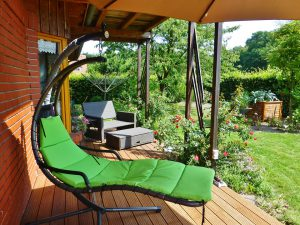 Ogród to świetne miejsce relaksu dla całej rodziny