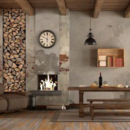 urządzanie mieszkania w stylu rystykalnym