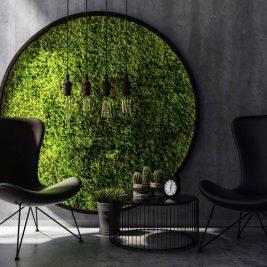 nowoczesna aranżacja salonu