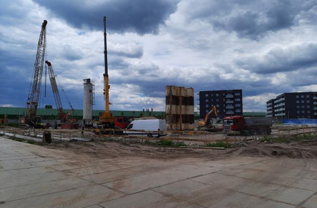 INFINITY Wilanów – budowa na 01.06.2021r.