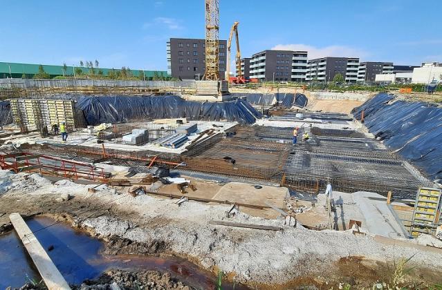 INFINITY Wilanów – budowa sierpień 2021 r.